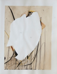 """""""Cut Outs #37"""" 10""""X8"""" mixed media collage on paper"""