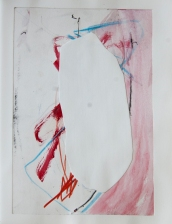 """""""Cut Outs #41"""" 10""""X8"""" mixed media collage on paper"""